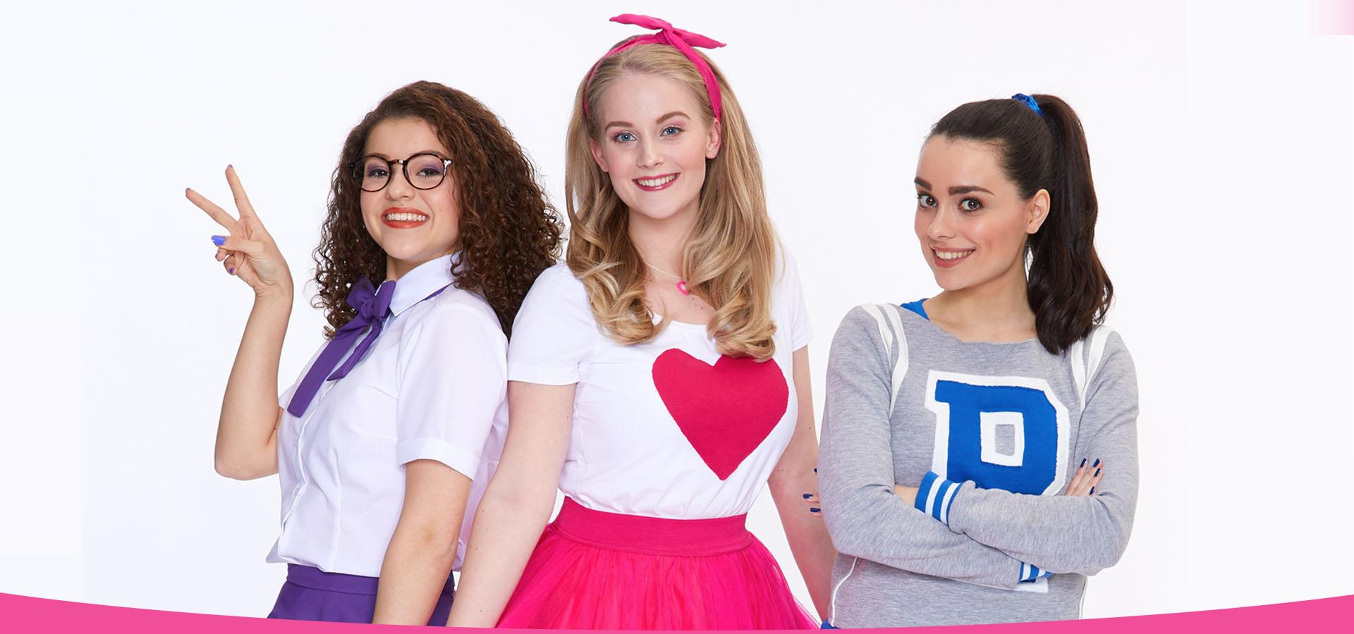 Dit is Raak! bestaande uit de meiden Jess, Nikki en Zoë.