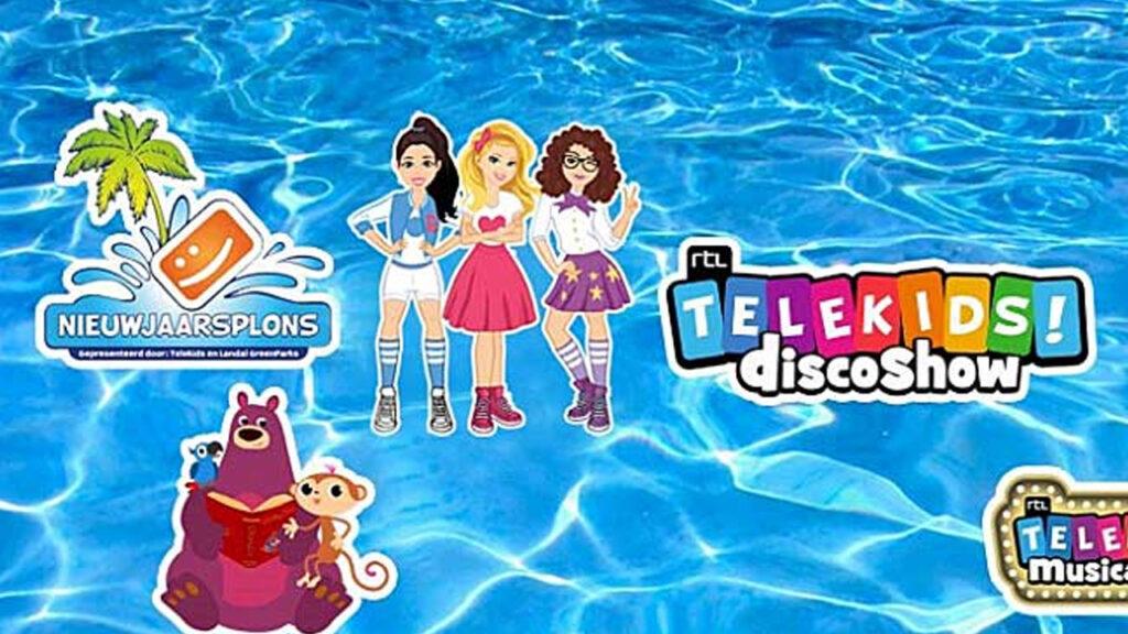 Jess, Nikki en Zoë op 7de editie van Telekids Nieuwjaarsplons