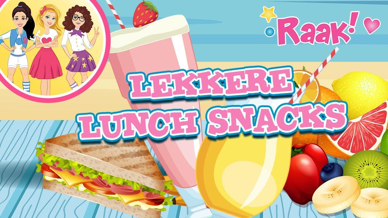 Vlog van Raak! met de Lekkere Lunch Snacks!